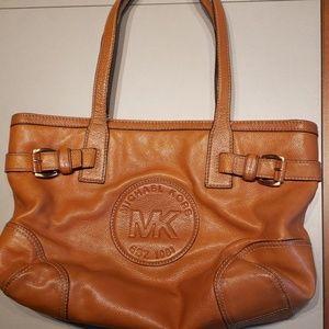 Michael Kors Logo Shoulder Purse Handbag